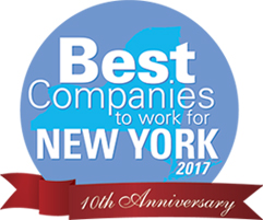 2017 Best Companies to work for - New York, 2017 - logo