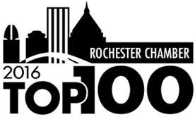 Rochester Chamber of Commerce 2016 Top 100 Companies - logo